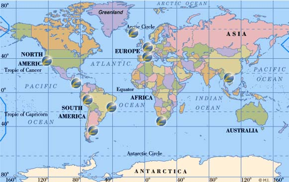 Show Me A Map Of The World Tidal Treasures - Show me a world map